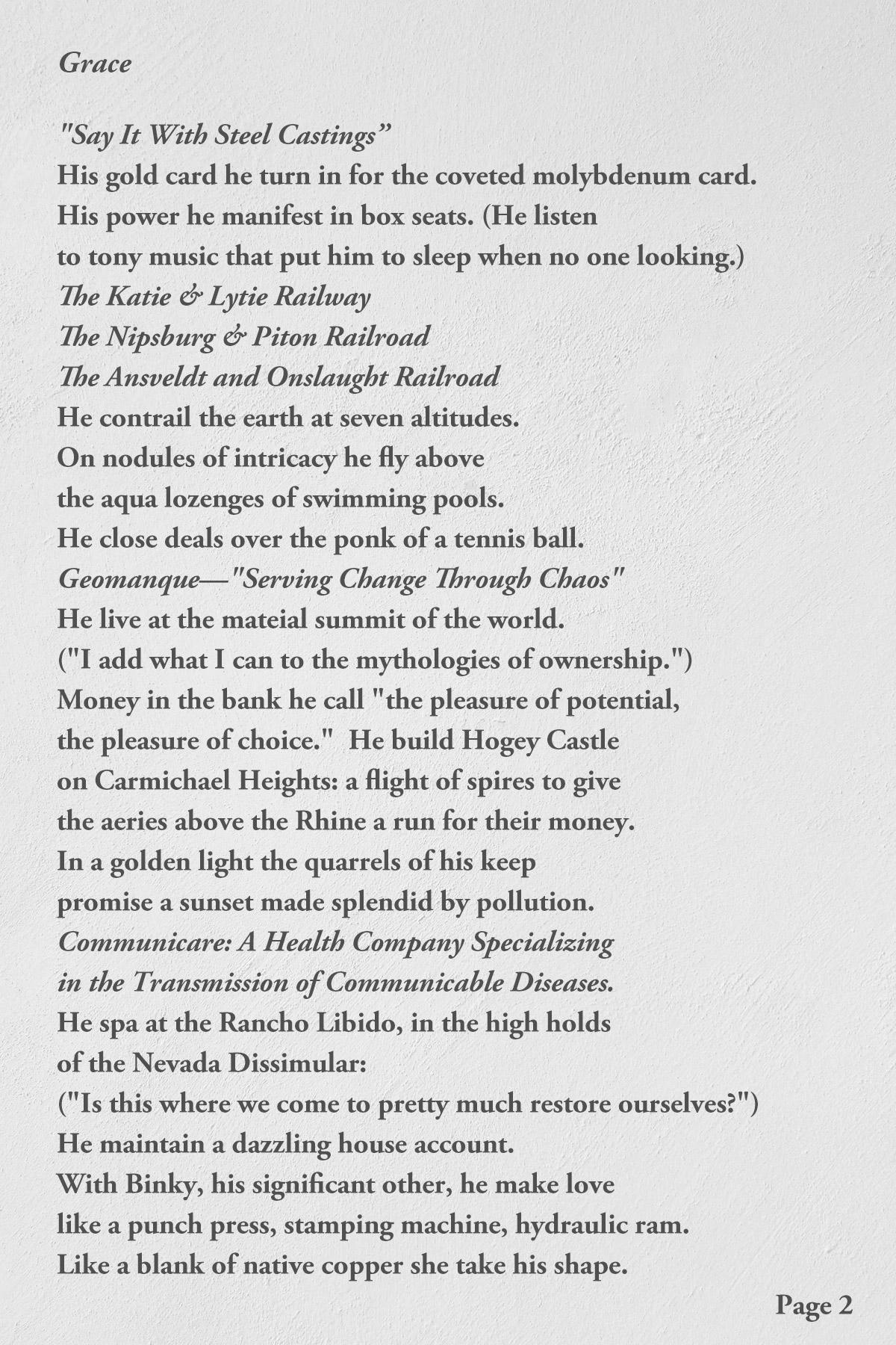Grace by John Barr page 2