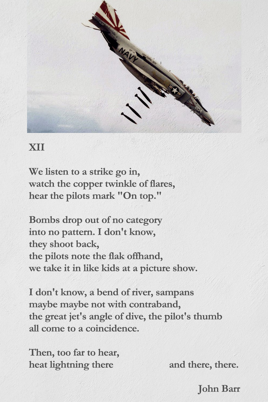 XII poem by John Barr